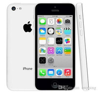 Wholesale iphone 5c free phone for sale – best 2017 Refurbished iPhone5C Unlocked Cell phones Apple iPhone C GB Inch IPS Capacitive Screen pixels Renew DHL