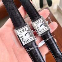 caixa de relogios para venda venda por atacado-Venda quente nova moda homem relógio rosa caso de prata mostrador branco relógio de luxo relógios de Quartzo 052 frete grátis