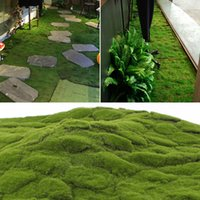 Wholesale grass for wall decoration for sale - Group buy Simulation Decoration Turf Lawn Grass Moss Mat For Background Wall Decor