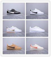 sapatos de corrida nylon venda por atacado-2019 Chegam Novas Clássico Cortez Nylon Prem Execução Sapatos Casuais Mens Venda Barato Leatherwear Jogging Tênis Esportivos Ao Ar Livre Tamanho 36-44