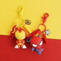 doctor de juguete al por mayor-Vengadores Guerra del infinito Llaveros Hombre de hierro Hierro Thanos Doctor Extraño Capitán América Figuras Juguetes