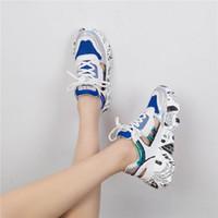 sapatos de borracha de borracha grossa para mulheres venda por atacado-Sapatos das mulheres de borracha nova cabeça redonda muffin inferior com 3-5 sapatos laser esportes sola grossa