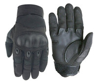 Wholesale golf gloves leather for sale - Group buy New Outdoor Fashion Sports Mountaineering and Riding Tactics Anti skid Battle Black shell Touch Screen Gloves