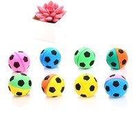 Wholesale toy trumpets for sale - Group buy Trumpet Sports Ball Seven Colors Round Foaming Eco Friendly Toys Animial Cat Playing Novelty Items Home Decoraion jlE1