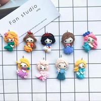 Wholesale princess key for sale - Group buy 10pcs Kawaii Flat back resin Fashion princess Charms for DIY decoration neckalce earring key chain Jewelry Making