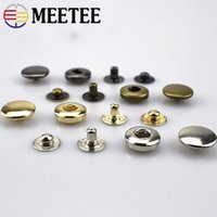 Metal Snap Button Clasps Fastener Press-Stud,Great for Closure Purse Handbag Clothes Sewing Craft,Pack of 12 Sets 15mm Gold