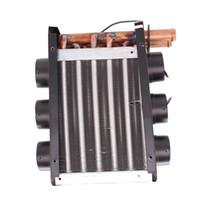 aquecedor 24v venda por atacado-12V 24V Ferro Compact aquecedor Three-side sopro Diversion 35 Copper Heater Tubes Car - 24V