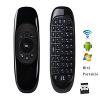 Wholesale C120 Mini GHz Wireless Keyboard USB Receiver Air Fly Mouse Fashion Remote Sensing Gaming Mouse Keyboard