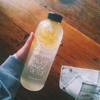 vortexkunststoff großhandel-Vibrationssieb Wasserflasche Protein Vortex Shake Flasche Plastikbecher Glas Sportbecher Student Neue Kreative Tragbare 600 ml