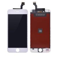 iphone сенсорный дигитайзер сенсорный полный оптовых-Новый ЖК-Дисплей Солнцезащитные Очки с Высокой Яркостью Pass Test Touch Digitizer Полный Экран Полная Замена Ассамблеи для iPhone 6 для Tianma LCD
