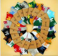 Wholesale china k resale online - christmas plantlife socks for men women high quality cotton socks skateboard hiphop maple leaf sport short socks Free DHL Fedex