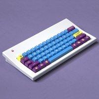 klavye renkleri toptan satış-1 KITI Maxkey Çift Atış 2600 Renk Eşleştirme Anahtar Kap SA Yüksekliği Topu Kap Özelleştirme Mekanik Klavye