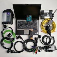 computadores portáteis preços venda por atacado-preço de fábrica 2em1 Laptop usado ferramenta Computer D630 Car Diagnóstico + Mb Estrela C4 SD Ligação C4 SD Compact 4 + Para BMW wi-fi ICOM PRÓXIMO + 1TB HDD
