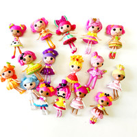 Wholesale lalaloopsy dolls resale online - 10Pcs cm Lalaloopsy Doll The Bulk Button Eyes Doll Action Figure Brinquedos Kids Best Toy For Girl S1131
