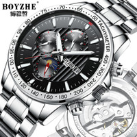 Wholesale watch sport hours automatic for sale - Group buy 316 Steel Automatic Mechanical Watch Men Sports Watch Calendar Luminous Man Watches Luxury Waterproof Clock Month Hours Table