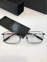 Wholesale ultralight rimless glasses for sale - Group buy glasses Prescription rimless gold frame leopard animal logo optical for men design clear glass ultralight france designer