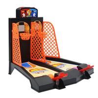 jogo de tiro de basquete venda por atacado-Dedo Tiro Basketball Game Machine Pai-filho Interação Brinquedos crianças loucas Tiro Basquetebol Brinquedos Crianças Board Game