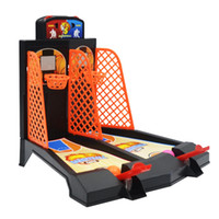 Wholesale basketball shot toys for sale - Group buy Kids Board Game Double Game Children Finger Shot Basketball Game Machine Parent child Interaction Mini Shot Basketball Toys