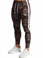 pantalon de compression masculin achat en gros de-Pantalons Joggers Hommes 2019 Mode Hommes Compression Pants Fitness Workout Skinny Sportswear Pantalons De Survêtement Mâle Leggings Décontractés Pantalons