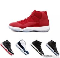 chicago stilleri toptan satış-Nike Air jorda retro 11 shoes Siyah out Heiress Siyah Stingray Gym Kırmızı Chicago Space Reçel Erkek Ayakkabı boyutu us6-us12 sıcak satmak