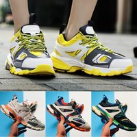 Wholesale tracks for sale - Group buy Designer Triple S Track Release Tess S Paris Gomma Maille Black Low Track M Casual Shoes Clunky Designer Sneaker With Box