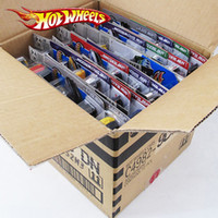 die heißesten kindermodelle groihandel-72pcs / box Hot Wheels Diecast Metal-Mini Model Car Brinquedos Hotwheels Spielzeug-Auto-Kind-Spielwaren für Kinder Geburtstag 01.43 Geschenk