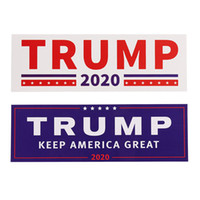 Wholesale new body car for sale - NEW Styles Donald Trump Car Stickers Bumper wall Sticker Keep Make America Great Decal for Car Styling Vehicle Paster DHL