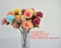 Wholesale color spot flowers for sale - Group buy New Arrived Spot Multi Purpose Bouquet Color Solid Dandelion Petals cm Long cm Bud Color Bright And Distinct Decorative Flower