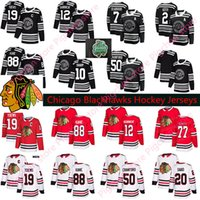 Wholesale blackhawks jersey women resale online - Men Women Kids Chicago Blackhawks hockey Patrick Kane Jonathan Toews Keith Saad Alex DeBrincat Red White Jerseys S XL