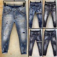 soğutma pop toptan satış-2019 Erkek Yeni varış moda tasarımcısı ÜST kalite Sıska serin adam kot nedensel Denim Jeans Hip pop erkek kot BIZ