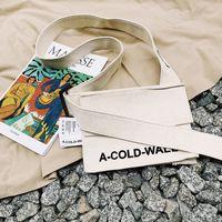 дизайнерские женские сумки оптовых-Холодная стена жизни скейтборды дизайнер Crossbody сумка новый ACW мужская женская холст сумка мини симпатичные сумки посыльного