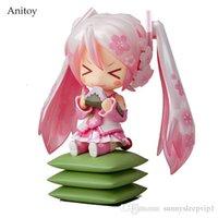 figuras de brinquedo miku venda por atacado-Anime bonito Nendoroid 4