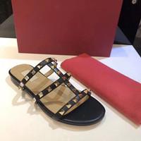 Wholesale gear best resale online - NEW Designer slipper Gear bottoms mens striped sandals causal Non slip summer huaraches slippers flip flops slipper BEST QUALITY