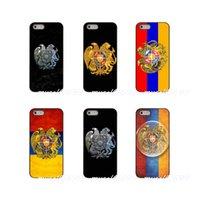 tampa para iphone bandeiras venda por atacado-Armenia bandeira hard phone case capa para apple iphone x xs xs max 4 4s 5 5s 5c se 6 6 s 7 8 além de ipod touch 4 5 6