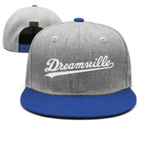 af1c33c6 j hats Canada - White Dreamville J Cole blue mens and womens snap back,flat