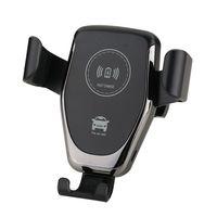 teléfonos de carga inalámbrica al por mayor-Cargador inalámbrico Qi de montaje en automóvil para iPhone XS X XR 8 Soporte inalámbrico de carga rápida para teléfono para Samsung Note 9 S9 S8
