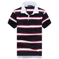 t-shirts ralph großhandel-Ralph Luxury Herren T-Shirt Lauren Fashion Designer T-Shirts Marke Polo Shirt Männer Pony Print T-Shirt Hochwertige Baumwolle Komfortable T-Shirts
