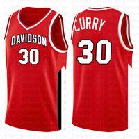 taille de curry achat en gros de-NCAA 30 HOMMES Stephen Davidson Wildcats Curry Jersey de Basketball College l College University TAILLE S-XXL HOMMES