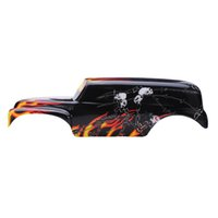 Wholesale car parts stickers for sale - Group buy RC Car Spare Parts Shell For Traxxas Grave Digger RC RTR Truck