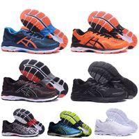 Wholesale limited sneakers resale online - Limit Discounts Sale Gel Kayano T646N Running Shoes for men women Triple Black Orange Gray Green Blue White Designer Trainers Sneakers