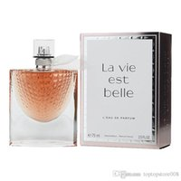 Wholesale Perfume for women lady fragrance Lacome Lavie Est Belle eclat ml spray perfume frower charming fragrance long lasting fast