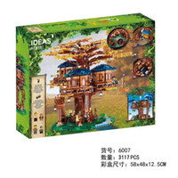 Wholesale building brick block houses toys resale online - Compatible WIith New Tree House Model Ideas Series Building Blocks Bricks Kids Educational Toys Birthday Gifts