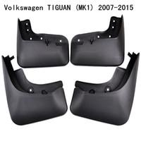 Wholesale volkswagen tiguan resale online - 4Pcs Set Car Mudflaps Splash Guards Mud Flap Mudguards Fender For Volkswagen Tiguan