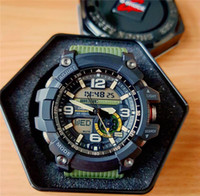 relógio de pulso venda por atacado-GG1000 Estilo Relógios dos homens de Luxo LED Toda a Função de Trabalho À Prova D 'Água de Pulso Relógios de Pulso Bússola Termômetro Digital Sports Watch Atacado