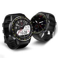 boussole android achat en gros de-Montre F1 intelligente GPS et boussole de positionnement Surveillance de la fréquence cardiaque Altitude Pression Montre de sport en plein air pour Android et IOS