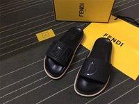 ingrosso i sandali di modo attraversano-2018 con la scatola di marca calda Uomini sandali da spiaggia Slide Medusa Scuff 2017 Pantofole Mens spiaggia bianca di moda slip-on sandali firmati US 7-12
