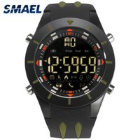 Wholesale cool mens digital watch for sale - Group buy SMAEL Mens Sport Watch Waterproof Cool Electonic Watches Men Military Alarm Clock LED Display Digital outdoor Wristwatches