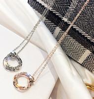 серебряные растения оптовых-Мода Одноместный Нежный Круглый Rhinestone Серебро Посадил Кулон Стильное Ожерелье Красивые Длинные Цепи Ожерелья Кулона