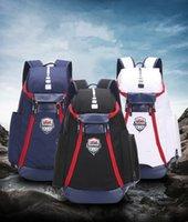 Wholesale 2019 backpack advanced version large capacity sports bag travel bag shoe bag basketball backpack