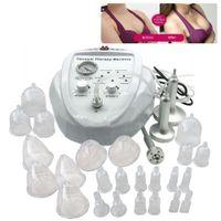 massage de mise en forme du sein achat en gros de-Pompe d'élargissement de machine de thérapie de massage sous vide soulevant la tasse de massage et le corps de façonnage de beauté de renforceur de sein